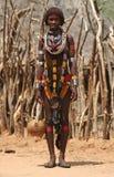 La gente dell'Africa Fotografie Stock