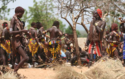 La gente dell'Africa Immagine Stock