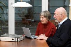 La gente dell'anziano di Activ Fotografie Stock Libere da Diritti