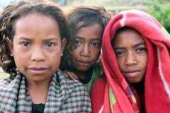 LA GENTE DELL'ASIA TIMOR ORIENTALE TIMOR EST MAUBISSE Fotografie Stock