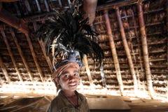 LA GENTE DELL'ASIA TIMOR ORIENTALE TIMOR EST MAUBISSE Fotografie Stock Libere da Diritti