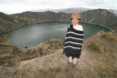 La gente dell'Ecuador Immagini Stock