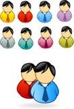 La gente dell'icona Immagini Stock