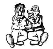 La gente dell'illustrazione del fumetto royalty illustrazione gratis