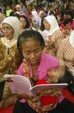 La gente dell'INDONESIA Immagine Stock