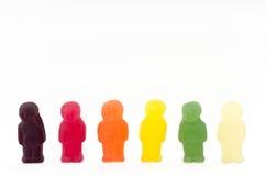 La gente della gelatina fotografie stock libere da diritti