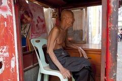 La gente della Tailandia Fotografie Stock