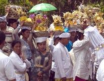 La gente di Balinese Fotografie Stock Libere da Diritti