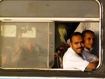 La gente di Cairo Fotografia Stock