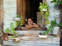 La gente di Cuba Fotografia Stock