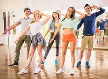 La gente di Dancing Fotografia Stock