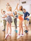 La gente di Dancing Fotografie Stock