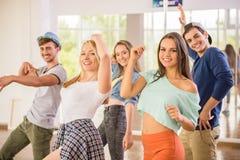 La gente di Dancing Immagini Stock