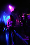 La gente di Dancing fotografia stock libera da diritti