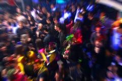 La gente di Dancing della discoteca Immagine Stock