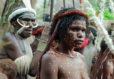 La gente di dani di Dugum fotografia stock