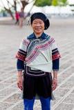 La gente di Hani, Cina Fotografia Stock