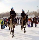 la gente di inverno    fotografia stock libera da diritti