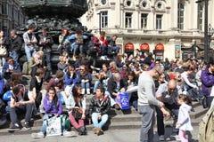 La gente di Londra Immagine Stock Libera da Diritti