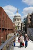 La gente di Londra Immagini Stock Libere da Diritti