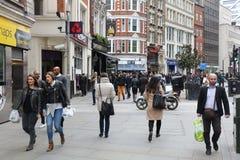 La gente di Londra Fotografia Stock Libera da Diritti