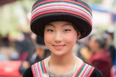 La gente di Luang Prabang Fotografie Stock
