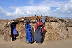 La gente di Maasai fotografie stock