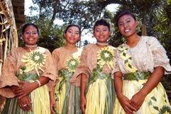 La gente di Mah Meri fotografie stock