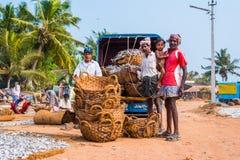 La gente di Mangalore Fotografia Stock Libera da Diritti
