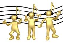 La gente di musica royalty illustrazione gratis