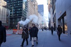 La gente di New York Immagini Stock Libere da Diritti