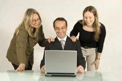 La gente nella riunione d'affari Immagini Stock