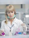 La gente di scienza e di ricerca in labaratory Immagine Stock Libera da Diritti