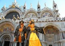 La gente di Venezia Fotografia Stock Libera da Diritti