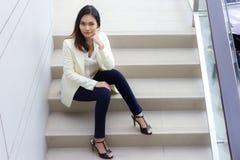 La gente, donne, asiatiche Fotografie Stock Libere da Diritti