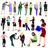 La gente - donne sul lavoro No.1. Fotografie Stock