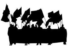 La gente due di anarchia Immagini Stock