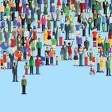 La gente e famiglie felici Immagine Stock