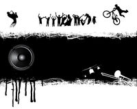 La gente ed elementi di musica. royalty illustrazione gratis