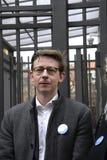 La gente encadena para los judíos en Dinamarca Foto de archivo libre de regalías