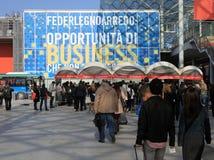 FederLegno Arredo 2013 Fotos de archivo
