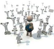 La gente es globo guardado libre illustration