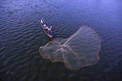 La gente está pescando Fotografía de archivo libre de regalías