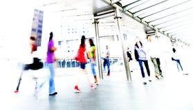 La gente in Hong Kong Concept Fotografie Stock Libere da Diritti