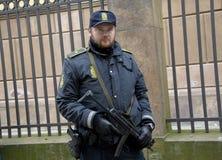 La gente incatena per gli ebrei in Danimarca Fotografie Stock Libere da Diritti