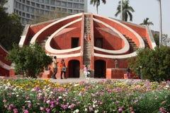 La gente a Jantar Mantar Nuova Delhi India Immagine Stock Libera da Diritti