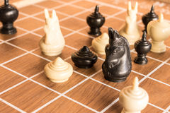 La gente le gusta ajedrez Imagen de archivo libre de regalías