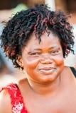 La gente nel GHANA Immagine Stock