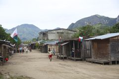 La gente nel Madagascar Immagine Stock Libera da Diritti