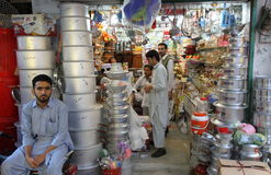 La gente nel Pakistan Immagini Stock Libere da Diritti
